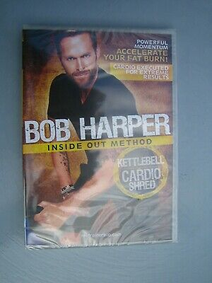 Bob Harper Kettlebell Cardio Shred {DVD} Inside Out Method; New Sealed; FREEPOST • 39.85£