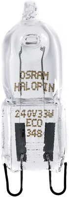 OSRAM HALOPIN PRO G9 33 W 240 V 2PIN G9 ECO HALOGEN CAPSULE LIGHT BULB To G9 40 • 26.93£