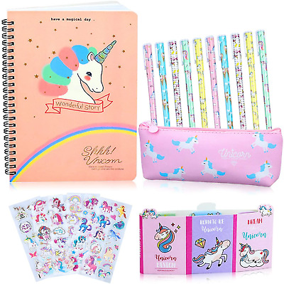 Unicorn Gifts For Girls Stationary Sets 5 6 7 8 9 10 11 12 Year Old Girl Gift 25 • 13.34£