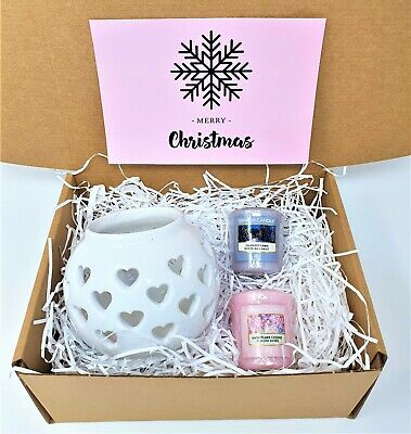 Christmas Yankee Candle Scented Gift Set / Hamper - Ladies / Women's Xmas Gifts • 15.99£