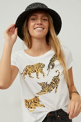 $ CDN52.57 • Buy Anthropologie Tigers Graphic Tee New Nwt XL