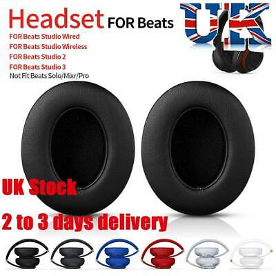 2x Replacement Ear Pads Cushion For Beats By Dr. Dre Studio 2 3 Wireless/Wired-  • 5.99£