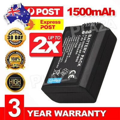 AU22.95 • Buy OEM NP-FW50 Battery For SONY Alpha A5000,A5100,A6000,A6300,A6500 FAST CHARGING