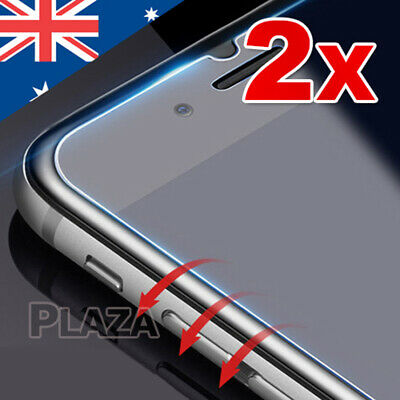 AU2.85 • Buy 2 X Premium Tempered Glass Screen Protector Film For   IPhone X XS 8 7 Plus