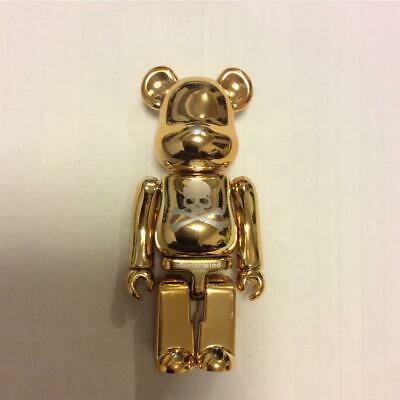 $709 • Buy Medicom Toy BE @ RBRICK 100% Wwt 2005 Mastermind Japan Bearbrick Gold 7cm Used