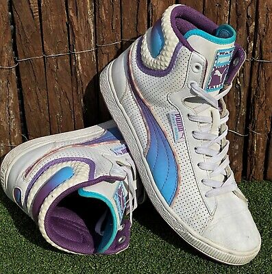 AU65 • Buy Women's Puma First Round Hi Tops Shoes Sneakers US 7.5 UK 5