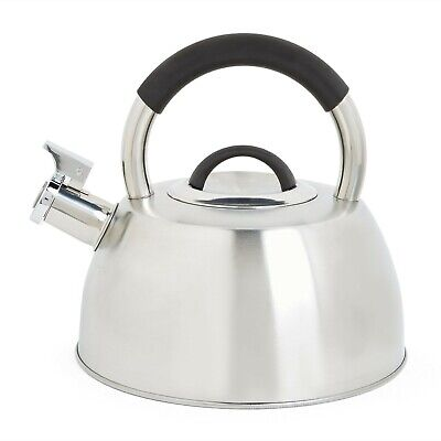 VonShef Whistling Stove Top Kettle – Induction Safe, Stainless Steel - 2.7 Litre • 15.99£