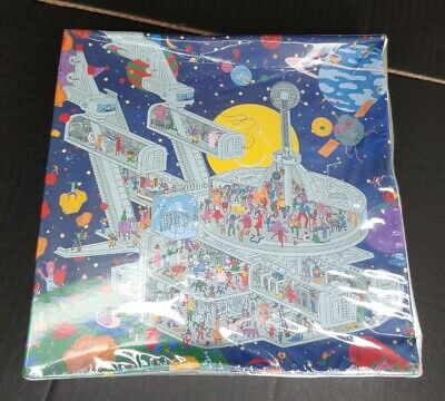 Life In Space 1000 PieceEeboo Jigsaw Puzzle Outer Space Aliens Spaceship NEW! • 21.71£