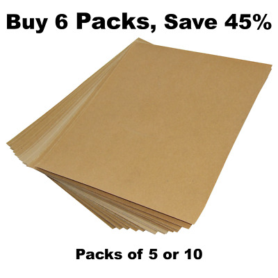 Sandpaper Sheets For Sanding Wood Or Plastic - Choice Of Grit And Pack Size • 3.99£