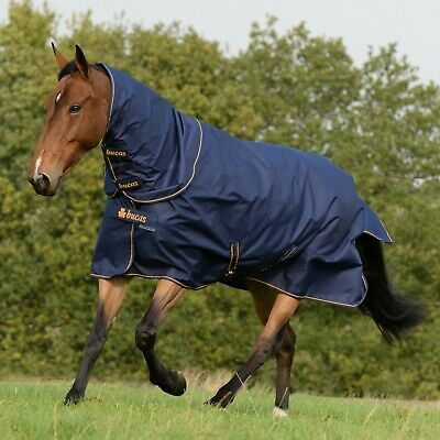 BNWT Bucas Irish Turnout Extra Turnout Rug ,300g Fill,Waterproof/ Breathable • 84£