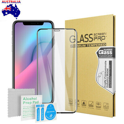 AU9.99 • Buy For Apple IPhone 12 11 Pro Max Full Cover Curved Tempered Glass Screen Protector