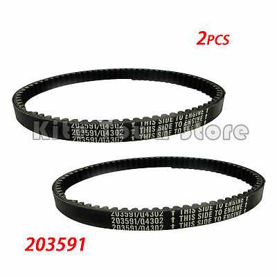 $ CDN18.38 • Buy 2x Go Kart Belt 30 Series For Comet Manco Yerf Dog Q43203W Rotary 10052 203591