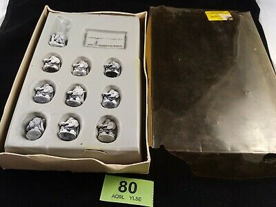 (G80) 1983 Warhammer Regiments Of Renown Bugman's Dwarf Rangers In Original Box • 79.99£