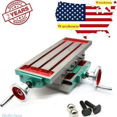 $161 • Buy Multifunction XY Axis Cross Slide Table F/ Drill Stands,drilling Milling Machine
