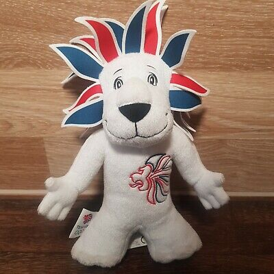 London 2012 Lion Olympic Games Team GB Official Mascot  Toy Plush Collectible  • 3.99£
