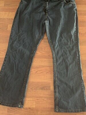 Ladies Simply Be Black Denim Jeans Uk Size 22 Great Condition • 1.98£
