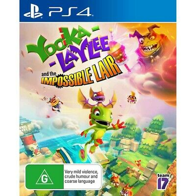AU39.95 • Buy Yooka Laylee And The Impossible Lair - PlayStation 4 - BRAND NEW