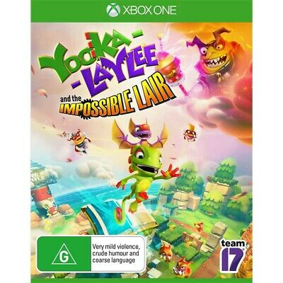 AU39.95 • Buy Yooka Laylee And The Impossible Lair - Xbox One - BRAND NEW