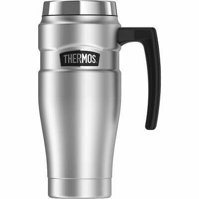 AU36.99 • Buy Thermos STAINLESS STEEL VACUUM Insulated Travel Mug Thermo With Handle 470ml