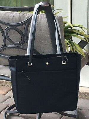 $ CDN157.08 • Buy Kate Spade Jae Large Tote Shoulder Bag Black Nylon $299