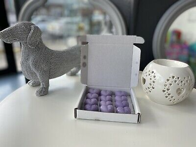 12 X INDIVIDUAL HIGHLY SCENTED WAX MELTS - Zoflora Bluebell Woods • 2.25£