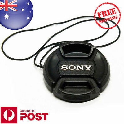 AU6.99 • Buy Sony Lens Cap - 49mm Camera Snap-on Len Cap Cover With Cord - Auspost - Z426