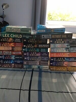 Lee Child Jack Reacher Books 1 To 25 Includes   No Middle Name  Short Stories. • 57£