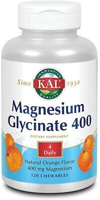 £17.69 • Buy KAL® Magnesium Glycinate 400 Mg   Chelated Magnesium Supplement   High
