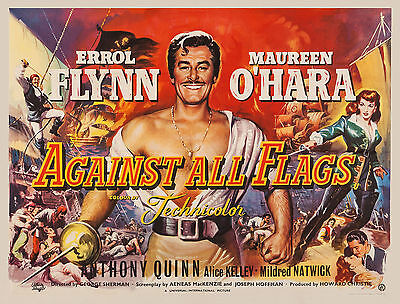 Against All Flags 1952 Errol Flynn Dvd • 3.50£