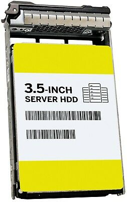 $ CDN63.42 • Buy 600GB 15K SAS 3.5  HDD In Dell Tray Compatible In T440 T430 R730 T420 R520 W347K