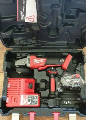 Milwaukee M18CAG115XPDB-0 M18 Fuel Brushless Angle Grinder With 1x 4Ah Battery • 225£