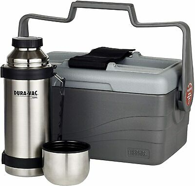 AU72.50 • Buy Thermos® 6.6L Lunch Lugger Cooler Combo + 1L Stainless Steel Vacuum Flask Bottle