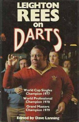 £10.99 • Buy Leighton Rees On Darts By Rees, Leighton Hardback Book The Cheap Fast Free Post