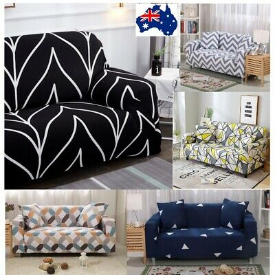 AU17.95 • Buy Sofa Slipcover Easy Stretch Couch Lounge Protector Covers 1 2 3 4 Seater