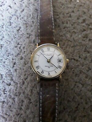 £15 • Buy Vintage Solvil Et Titus Feuille D'or Gold Plated Swiss Watch Sept