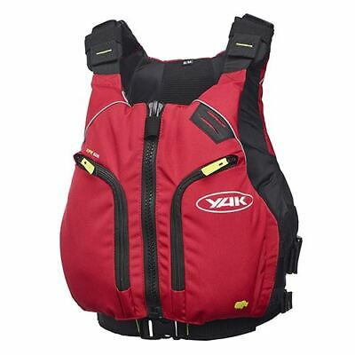 Yak Xipe Watersports Buoyancy Aid Vest Pfd Canoe Kayak Sail Sup 50n Xxl Red • 78.95£