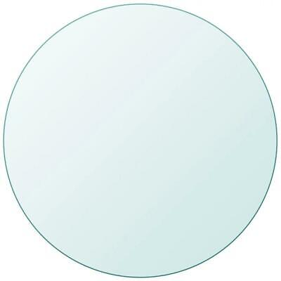 AU85 • Buy Dining Coffee Table Top Tempered Glass Round 800mm, Thickness: 10mm Transparent