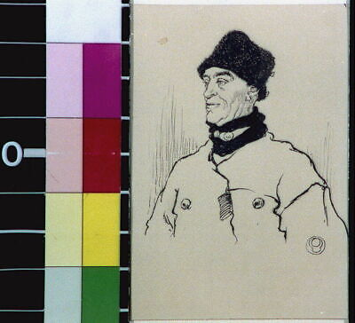 Big Black Fur Hats,almost Like Drum-majors,Edward Penfield,1906?,Fur Garme 5897 • 9£