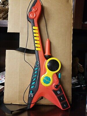 Vintage Manley 2005 Children's Toy Guitar Keyboard With Mic & Strap  • 28.94£