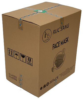 AU550 • Buy Carton 2500pcs TGA Certified Disposable Facemask Surgical CE FDA Approved 4 Ply