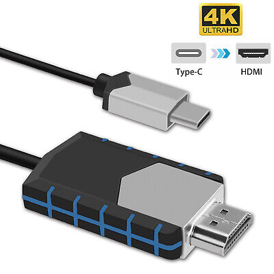 $ CDN11.28 • Buy USB-C Type C To HDMI HDTV TV Cable Adapter Converter For Macbook Android Phones
