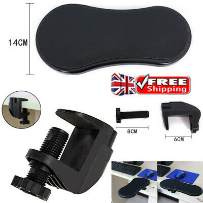 £8.45 • Buy Computer Elbow Arm Rest Support Table Desk Mouse Pads Armrest Wrist Home Office