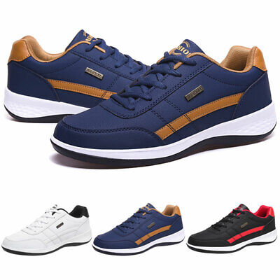 $24.99 • Buy Men's Casual Walking Shoes Running Outdoor Athletic Fashion Tennis Gym Sneakers