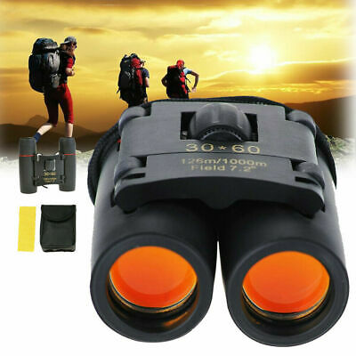 £6.92 • Buy Mini Day And Night Vision Telescope 30 X 60 Zoom Compact Binoculars With Pouch