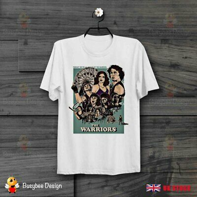 THE Warriors Usa 70s 80s Movie Poster Film Cult Ideal Gift Unisex T Shirt B784 • 5.99£