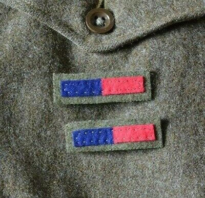 British Army Ww2 Arm Of Service Insignia Strips Royal Engineers Artillery Reme  • 2.99£