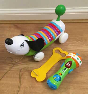 Leap Frog Alphapup And V Tech Sing Along Microphone BUNDLE Pre School • 10.75£