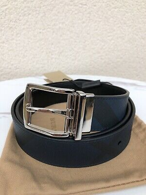 Burberry Check Reversible Belt • 219£