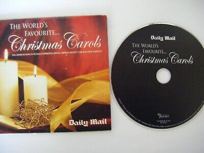 The Worlds Favorite Carols Daily Mail Promotional Cd • 0.10£