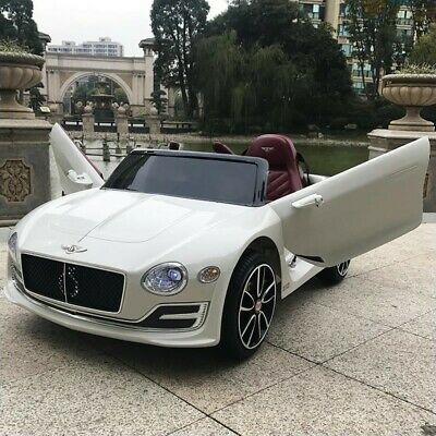 Licensed Bentley EXP12 Battery Electric 12v Kids Ride On Car  With Remote White • 139.95£